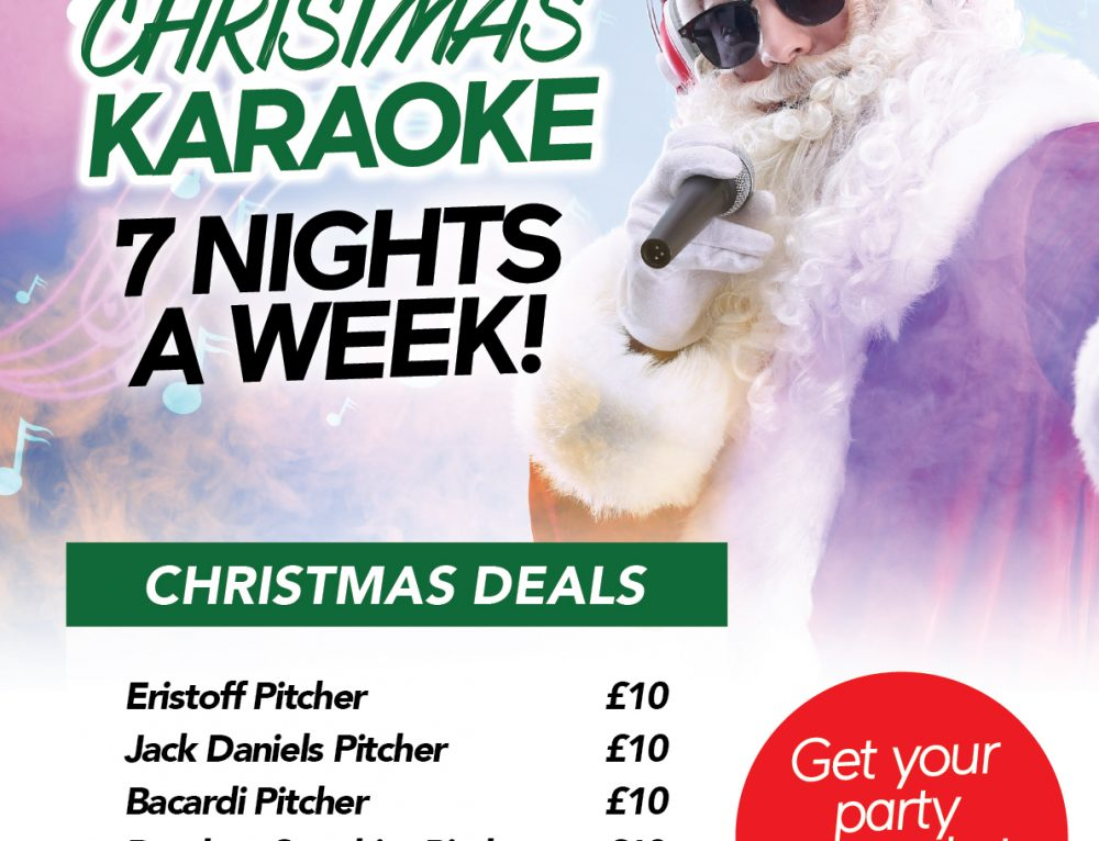Karaoke Every Night in December